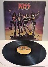Kiss – Destroyer vinyl LP 1977 casablanca with insert Detroit Rock City Ace