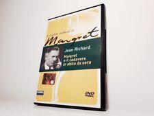 DVD LE MIGLIORI INCHIESTE DI MAIGRET - MAIGRET E IL CADAVERE IN ABITO DA SERA