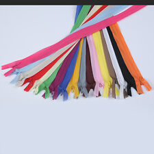 """50 Pcs 10.5/"""" To 23/"""" Invisible Zippers Assorted Color"""