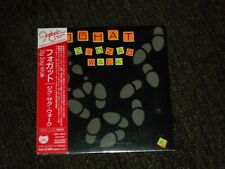 Foghat ‎Zig-Zag Walk Japan Mini LP sealed