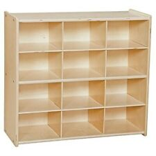 New listing Contender 12-Cubby Wood Storage Unit