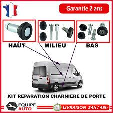 RENAULT MASTER 3 - Réparation Galet de Porte Lateral HAUT MILIEU BAS - Movano B