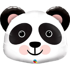 "Panda Head 31"" Supershape Foil Balloon"