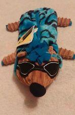 Hedgehog Pencil Pouch-Blue, Brown, Black-Zipper-Furry&Has Ridges-So Very Unique!