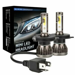 For 1995-2008 HOLDEN RODEO LED Headlight Upgrade Kit (2 X H4 6500K White Bulbs)