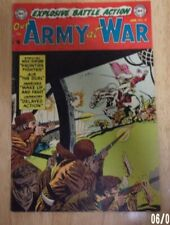 OUR ARMY AT WAR #18 VERY NICE FN-- 1954  4 GREAT STORIES,IRV NOVICK COVER