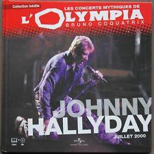"""JOHNNY HALLYDAY """"les concerts mytiques de l'olympia"""" JUILLET 2000  CD"""