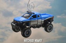 Lifted 2017 Chevy Colorado ZR2 1500 Crew Cab Pickup Truck Christmas Ornament 4x4