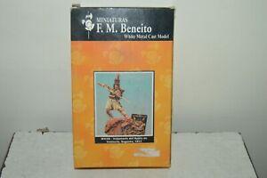 Figurine Model Soldier Volunteer of The Reine Valencia 1811 F.M.BENEITO New