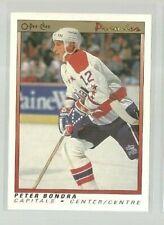 1990-91 OPC Premier #7 Peter Bondra RC (ref 63034)