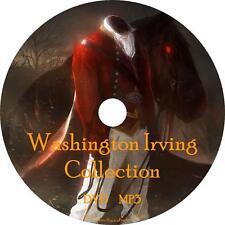Washington Irving Audio Book Collection on 1 MP3 DVD Sleepy Rip Van FREE SHIP
