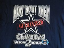 vtg Cowboys Sweatshirt 1994 Back 2 Back to Super Bowl champs L/XL NFL crewneck