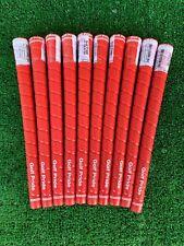 Golf Pride Tour Wrap 2G Red Standard 60R Grips *Genuine* 10 Pcs set