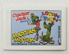 Cracker Jacks Vtg 1996 Rare Looney Tunes Marvin Martian Unopened Mini Comic Book