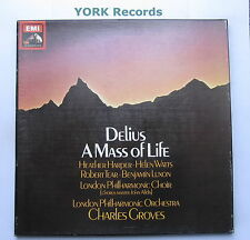 SLS 958 - DELIUS - A Mass For Life GROVES London Phil - Ex 2 LP Record Box Set