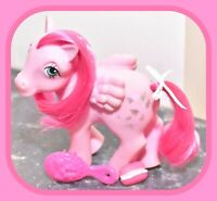 ❤️My Little Pony MLP G1 Vtg 1984 Heart Throb Wings Pink Pegasus Glitter Hearts❤️