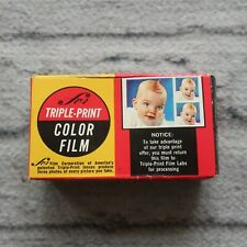 Expired Triple Print Color 1978 126-12 Camera Film Vintage