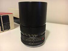 LEICAFLEX 135mm f/2.8 Elmarit-R LEITZ Wetzlar R MOUNT 1-CAM PRIME LENS #2307136