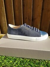 Axel Arigato Cap Toe Sneakers Navy Leather Size UK 8 / Eu 42