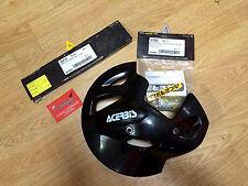 COPRI DISCO ANTERIORE NERO ACERBIS SPIDER KTM 2T/4T  MY 2000 COMPLETO