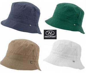 Mens Ladies Sun Hat Cap Bucket Travel Festival Fishing White Blue Green New S-XL