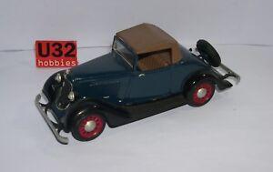 Pyro N Gauge Building Kit 1/32 Plymouth Convertible 1934 Mounted