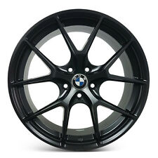 4 x BMW 19x8.5/9.5 5x120 Staggered Alloy Sport Rims Wheels Mags ET15/20 BLACK