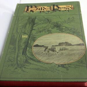 Wild und Hund, gebunden um 1905