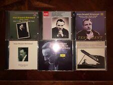 Arturo Benedetti Michelangeli classical piano 8 CD LOT