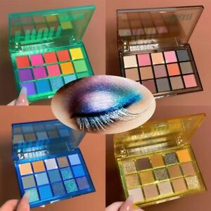 Waterproof 15-color Eyeshadow Party Eyeshadow Pallete Matte Shades Neon Palette
