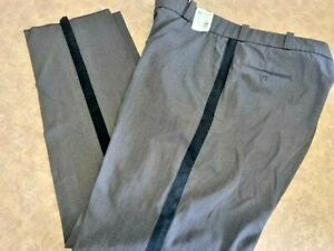 Men's ~HORACE SMALL Uniform Pants W/ Black Stripe HX2574B - Size 48x37U~ NEW