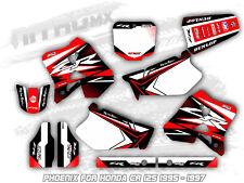 NitroMX Graphics Kit for Honda CR 125 1995 1996 1997 Motocross Decal Stickers MX