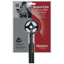 Masters Superlite Extendable 3 Metre Golf Ball Retriever - Telescopic Compact