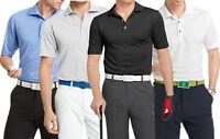 New Men's IZOD Big & Tall Grid Golf Performance Polo Size XLT, 2X, 3X MSRP $55