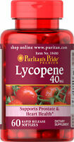 Puritan's Pride Lycopene 40 mg - 60 Softgels