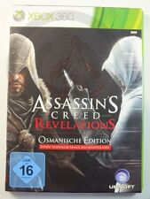!!! XBOX 360 gioco Assassin 'S CREED REVELATIONS Impero, Gebr. ma bene!!!
