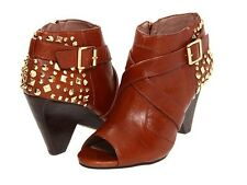 """VINCE CAMUTO WOMEN'S """"PADARA"""" BOOTS SOFT LUXURY LEATHER ACORN BOOTIES 7.5 NEW"""