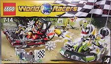 Lego World Racers 8899 Gefahr im Krokodil-Sumpf Gator Swamp NEU