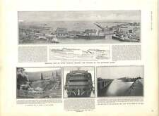 1905 State Of Works Dover Harbour Hms Pitt Fire Grozny Caucasus