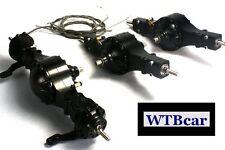 1/14 rc car truck parts for Tamiya 4X4 6X4 man scania all Metal Axle  #1+ #3+ #4