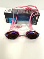 Speedo Women's Swim Goggles Mirrored Vanquisher 2.0 Bright Pink UV Protect NEW