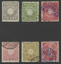 CHINA JAPANESE PO 1900-14 selection early stamps incl. used abroad DAIREN cancel