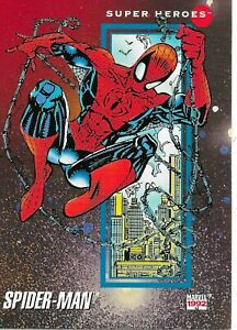 SUPER HEROES SINGLE TRADING CARDS YOU PICK (#1-191) MARVEL ENTERTAINMENT 1992