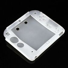 Clear Case Silicone protective Rubber bumper Gel Skin Cover for Nintendo 2DS