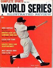 1961 World Series Review Baseball Magazine, Mickey Mantle New York Yankees Good