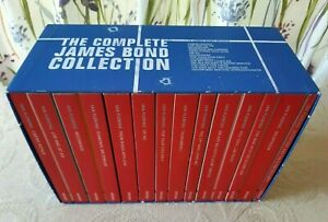 'The Complete James Bond Collection' Boxset of 14 Paperback Books by Ian Fleming