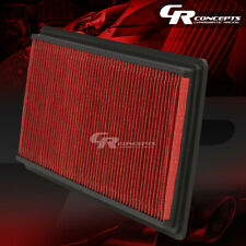 RED WASHABLE HIGH FLOW AIR FILTER FOR 98-02 CHEVY/PONTIAC CAMARO/FIREBIRD 2DR