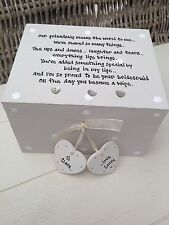 Shabby Personalised Chic Gift For Bride From Bridesmaid Wedding Trinket Gift Box