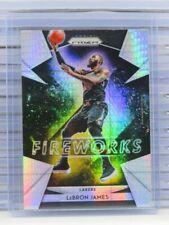 2018-19 Prizm LeBron James Fireworks Hyper Prizms Lakers BB