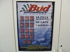 2000 Bud Shootout Daytona Beach Feb 13 2000 Nascar Poster New